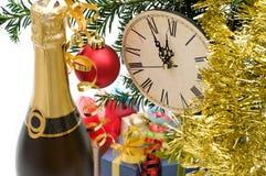 Decoración del Año Nuevo Fotos de archivo