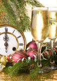 Decoración del Año Nuevo imágenes de archivo libres de regalías