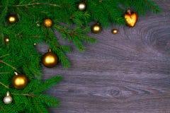 Decoración del Año Nuevo Fotografía de archivo
