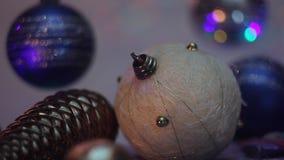 Decoración del Año Nuevo almacen de video