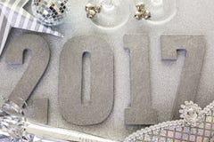 Decoración del Año Nuevo Imagen de archivo