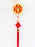 Decoración del Año Nuevo de chino tradicional Fotografía de archivo
