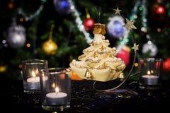 Decoración del Año Nuevo de la Navidad Imagen de archivo