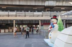 Decoración del Año Nuevo en Bangkok Fotos de archivo