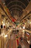 Decoración del Año Nuevo en los grandes almacenes de la GOMA, Moscú Imágenes de archivo libres de regalías