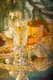 Decoración del Año Nuevo y de la Navidad Fotos de archivo libres de regalías