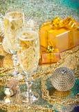 Decoración del Año Nuevo y de la Navidad Imagen de archivo