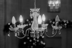 Decoración del Año Nuevo y de la Navidad del invierno en la vida grande blanca r Foto de archivo