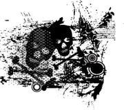 Decoración del abstarct de los cráneos Imagen de archivo