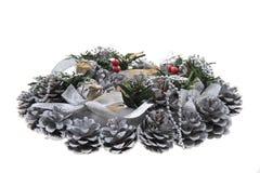 Decoración del advenimiento de la Navidad Fotos de archivo libres de regalías