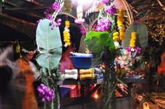 Decoración del altar sacrificatorio foto de archivo libre de regalías