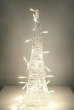 Decoración del blanco de la Navidad Fotografía de archivo