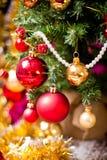 Decoración del caballo del árbol de navidad Fotografía de archivo libre de regalías