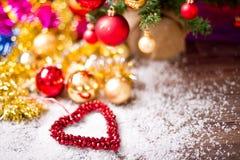 Decoración del caballo del árbol de navidad Imágenes de archivo libres de regalías