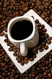 Decoración del café Fotografía de archivo libre de regalías