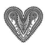 Decoración del corazón Fotos de archivo libres de regalías