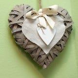 Decoración del corazón Fotografía de archivo libre de regalías