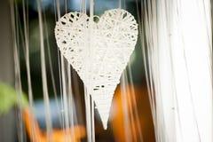 Decoración del corazón Foto de archivo libre de regalías