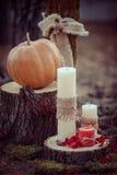 Decoración del día de boda imagenes de archivo