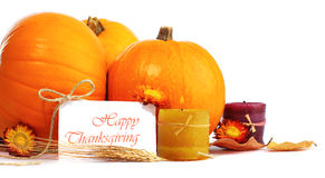 Decoración del día de fiesta de acción de gracias Imágenes de archivo libres de regalías