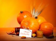 Decoración del día de fiesta de acción de gracias Imagenes de archivo