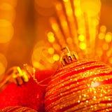 Decoración del día de fiesta del Año Nuevo Fotografía de archivo