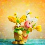 Decoración del día de fiesta de Pascua Imagenes de archivo