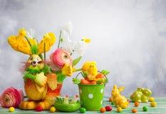 Decoración del día de fiesta de Pascua Fotografía de archivo libre de regalías