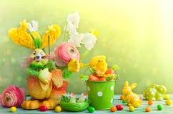 Decoración del día de fiesta de Pascua Fotografía de archivo