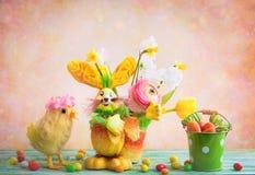 Decoración del día de fiesta de Pascua Foto de archivo libre de regalías