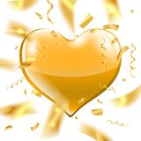 Decoración del día de fiesta del día de tarjetas del día de San Valentín Imagen de archivo libre de regalías