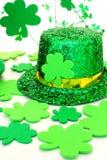 Decoración del día del St Patricks Imágenes de archivo libres de regalías