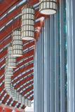 Decoración del edificio Imágenes de archivo libres de regalías