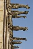 Decoración del estilo de Othic, París, Francia Imagen de archivo libre de regalías