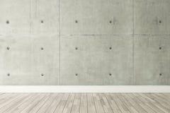 Decoración del estilo del desván del muro de cemento, fondo, diseño de la plantilla Foto de archivo libre de regalías