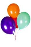 Decoración del globo del partido Foto de archivo