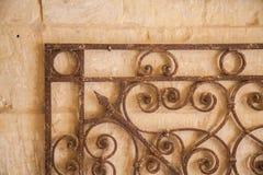 Decoración del hierro Fotografía de archivo