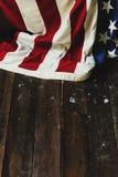 Decoración del hogar de la bandera de América Imagen de archivo libre de regalías