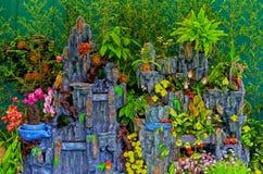 Decoración del jardín de la primavera Foto de archivo libre de regalías