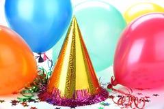Decoración del partido Imagen de archivo libre de regalías