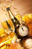 Decoración del partido - día de Año Nuevo Imagenes de archivo
