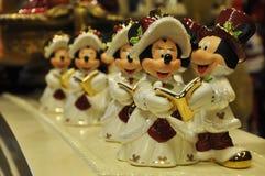 Decoración del ratón de Mickey y de Minnie imagenes de archivo