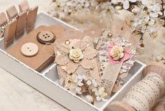 Decoración del regalo foto de archivo libre de regalías