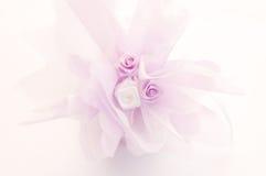 Decoración del regalo de boda Imagen de archivo libre de regalías