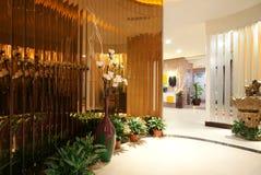 Decoración del salón de belleza Imagen de archivo