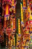 Decoración del templo chino imagen de archivo libre de regalías