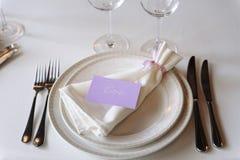 Decoración del vector de la boda Primer Fotos de archivo