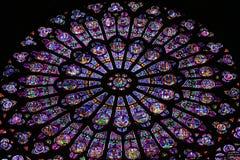 Decoración del vidrio del color Fotografía de archivo