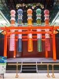 Decoración en el aeropuerto de Haneda, Tokio, Japón foto de archivo libre de regalías