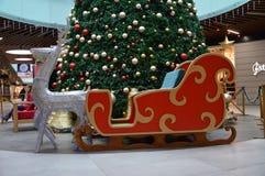 Decoración en el ` s de la Navidad y del día de fiesta del Año Nuevo Foto de archivo
